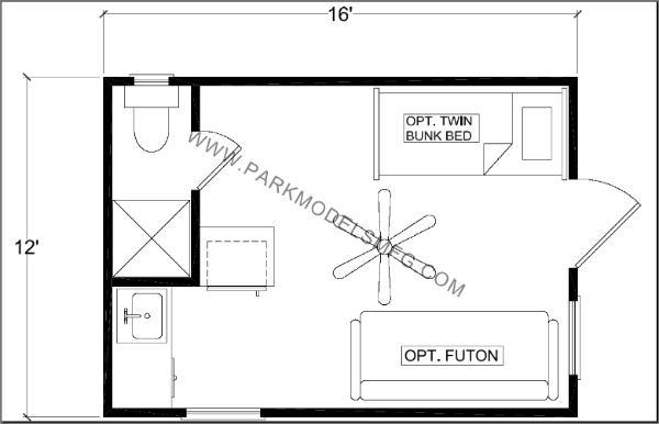 12 x 32 cabin floor plans for 16 x 32 floor plan